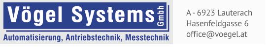 Vögel Systems GmbH A - 6923 Lauterach